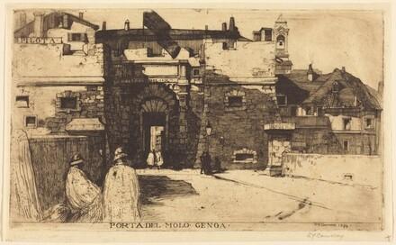 Porta del Molo, Genoa, No. I