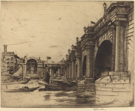 Waterloo Bridge, No. 1