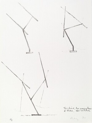 Two Fixed, Two Moving Lines, Four Blades, 360Rotation