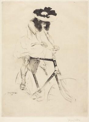 Renée on a Bicycle (Renée à bicyclette)