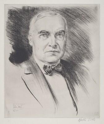 President Harding, Full Face View