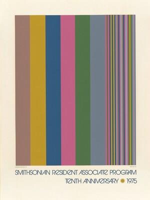 Untitled (Poster for Smithsonian Resident Associate Program, Tenth Anniversary)