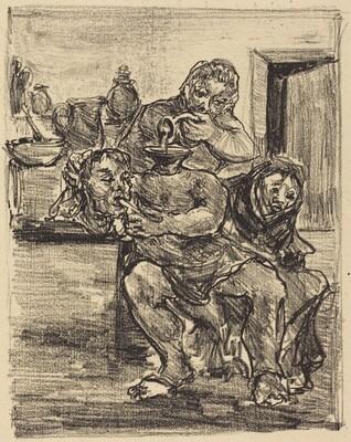 Copy after Goya's Gran disparate