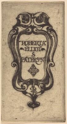 Bookplate of Roberta Elliot S. Paterson