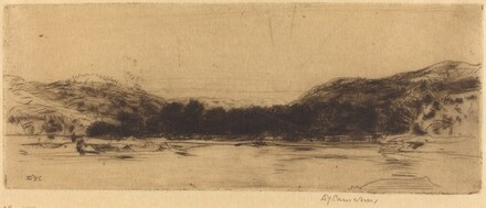 Sketch on the Tay