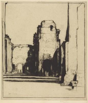 Tepidarium: Thermae of Caracalla