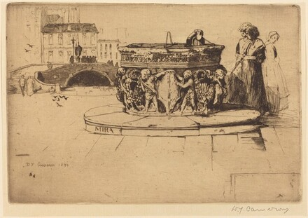 A Venetian Fountain