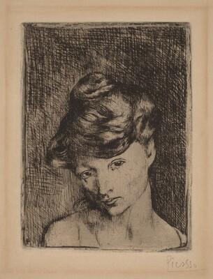 Head of a Woman (Tête de femme)