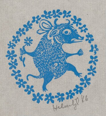Announcement of New Woodblock Prints