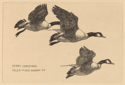 Christmas Card from Helen and Dick Bishop