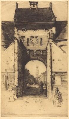 The Gateway of Bruges