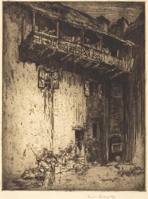 Old Houses, St. Cirq (Hog Butchers)