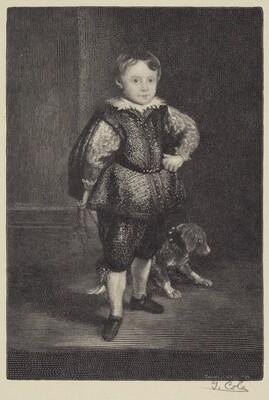 Filippo Cattaneo, Son of Marchesa Elena Grimaldi