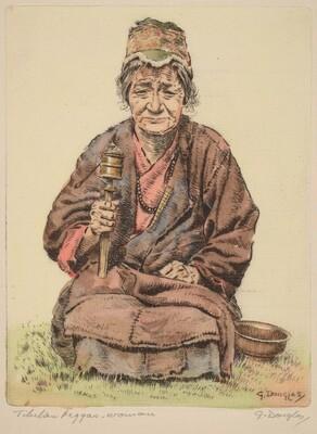 Tibetan Beggar-Woman