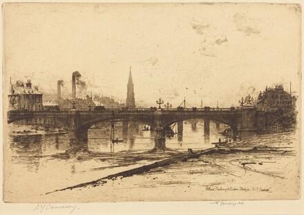 Albert, Railway, and Victoria Bridges