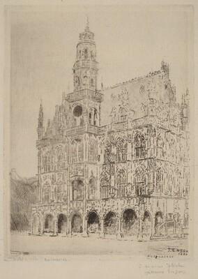 The City Hall in Audenarde (L'hotel de ville d'Audenarde)