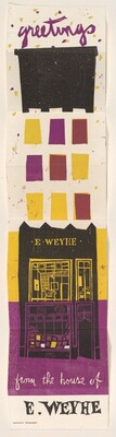 Greetings from the House of E. Weyhe