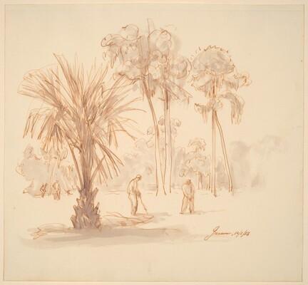 Golfers in the Tropics