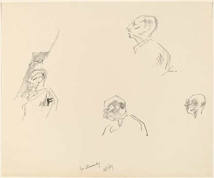 Igor Stravinsky - Head Studies