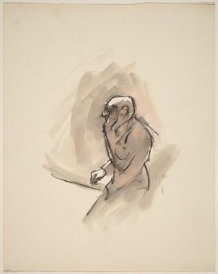 Old Man (Musician series: Stravinsky?)