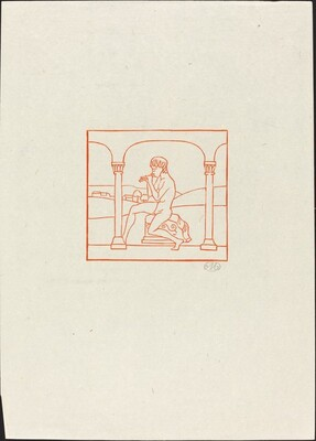Frontispiece: Daphnis Playing on His Pipe (Frontispice)