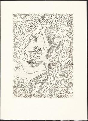 Best Wishes for 1973 from La Galerie Sagot-LeGarrec