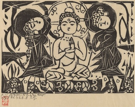Gautama and Bodhisattvas