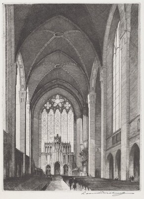 Interior of the Chapel at the University of Chicago