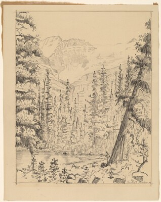 Lake O'Hara and Mt. Lefroy, British Columbia