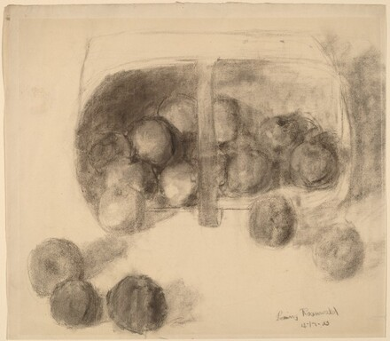 Still Life (Apples and Basket)