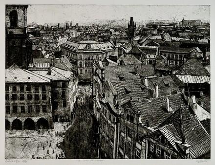 Kafka-ville: A View of Prague