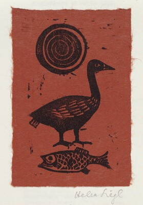Concentric Circles, Goose, and Fish