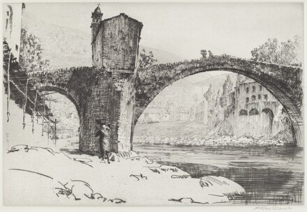 Bridge at Badalucco, Italy