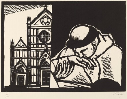 Death of Saint Francis (La morte di San Francesco; particolare da Giotto)