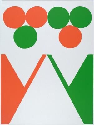 Green, White and Orange