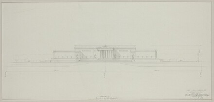 Early Elevation Study: Axis on 4 1/2 Street