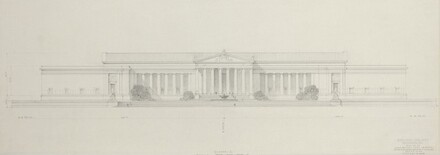 Early Elevation Study: Axis on 6th Street