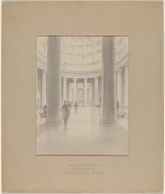 Preliminary Study: Rotunda without Central Feature