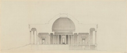 Transverse Section: Scheme with Dome