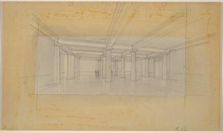 Central Lobby: Ground Floor, Scheme C