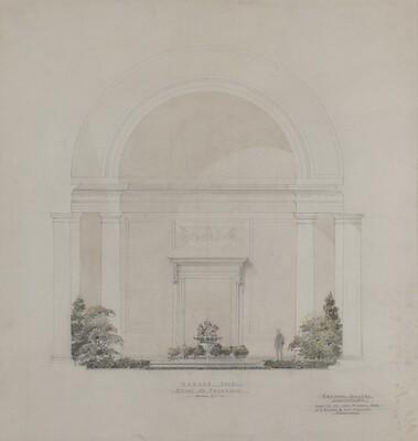 Garden Court: Study of Fountain