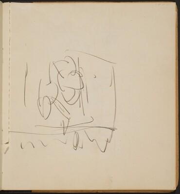 Begonnene Skizze (Unfinished Sketch) [p. 3]
