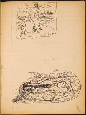 Zwei Skizzen (Two Sketches) [p. 15]