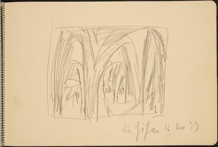 Einblick in ein Gewölbe (View into a Cellar) [p. 5]