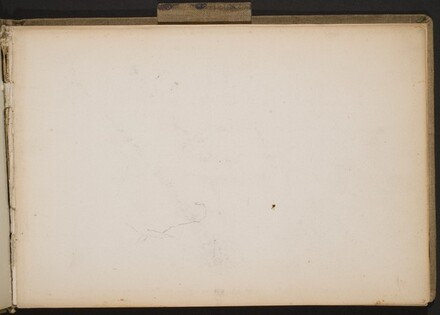Begonnener Pferdekopf (Beginning Sketch of Horse Head) [p. 7]
