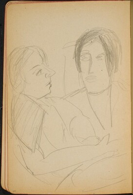 Zwei Frauen (Two Women) [p. 40]