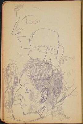 Studienköpfe (Portrait Studies) [p. 44]