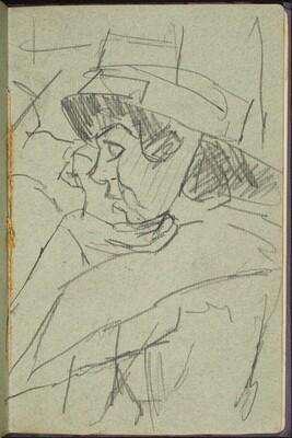 Frau mit Hut (Woman with a Hat) [p. 33]