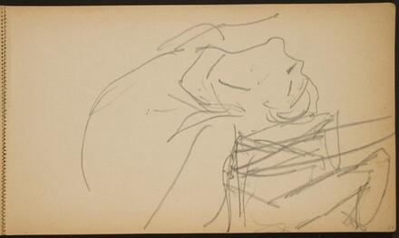 Akrobat in der Brücke, Detail (Backbend, Detail) [p. 17]