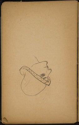 Frauenkopf mit Hut (Woman's Head with a Hat) [p. 82]